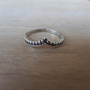 anillo plata de ley clio